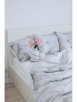 Grey story bedding