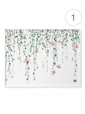 """Flower land"" poster set"