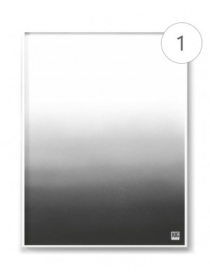 ":Black and white"" poster set"