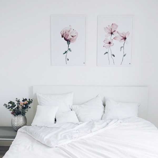 """Think pink"" poster set"
