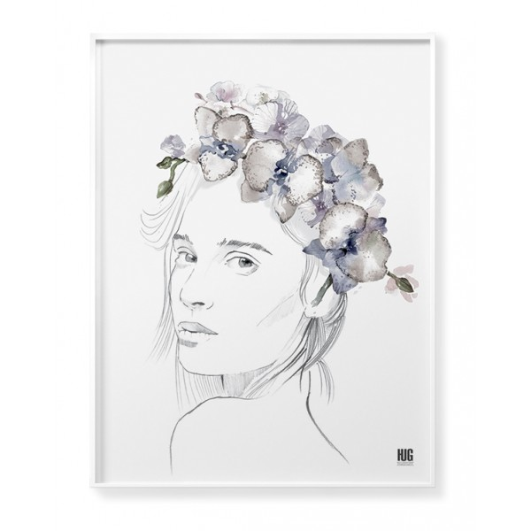 Orchid woman poster