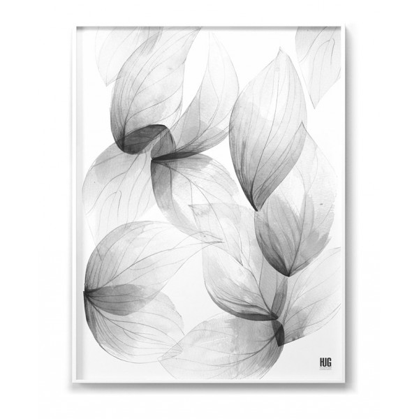Light leaves poster