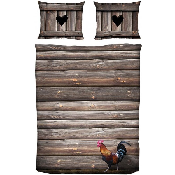 Rooster bedding
